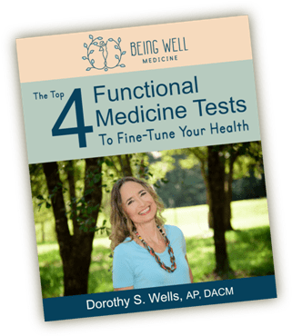 Top 4 Functional Medicine Tests Book Cover